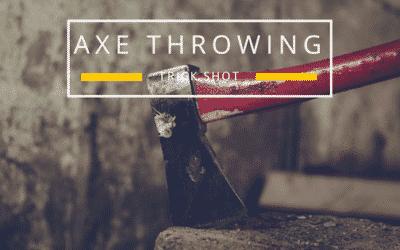 Axe Throwing Trick Shot