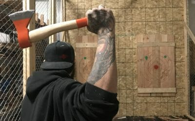 Axe Throwing League Begins on July 11th