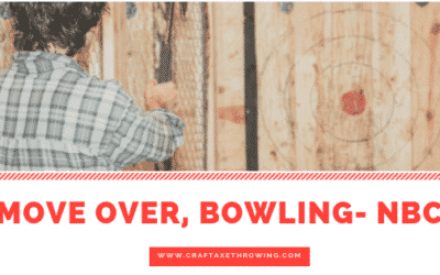 Move Over Bowling, Axe Throwing is the New League Sport- NBC