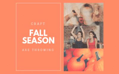 Fall Fun at Craft Axe Throwing