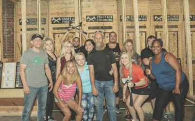 Birthday Special at Craft Axe Throwing